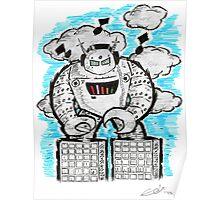Robotech & Deck Poster