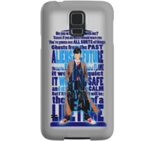 An Angel with all star red converse Shoes typograph Samsung Galaxy Case/Skin