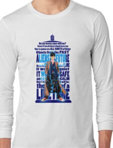 An Angel with all star red converse Shoes typograph Long Sleeve T-Shirt