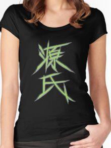 OW GENJI SPRAY Women's Fitted Scoop T-Shirt
