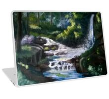 Waterfall in the forest Laptop Skin