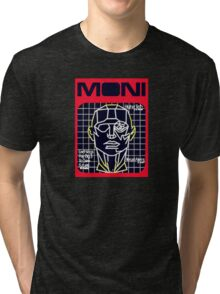 blade runner fictional magazine cover Tri-blend T-Shirt