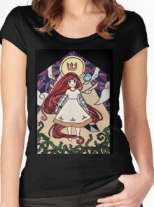 Stain Glass Child Of Light Women's Fitted Scoop T-Shirt