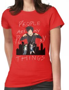 People Are My Playthings Womens Fitted T-Shirt