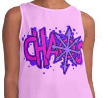 Chaos is Fabulous Contrast Tank