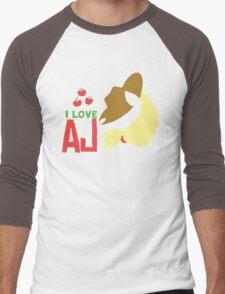 I LOVE APPLE JACK Men's Baseball ¾ T-Shirt
