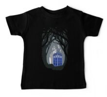 Space And Time traveller Box lost in the woods Baby Tee