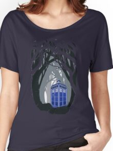 Space And Time traveller Box lost in the woods Women's Relaxed Fit T-Shirt