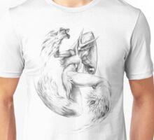 Blaziken - original illustration Unisex T-Shirt