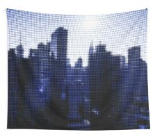 "Pixels Print ""NEW YORK CITY BLUE"" Wall Tapestry"