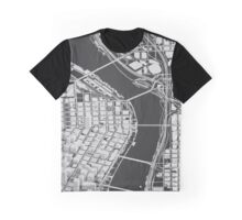 Portland In Wireframe Graphic T-Shirt