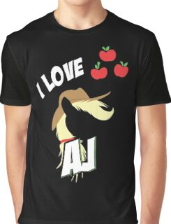 I LOVE APPLE JACK Graphic T-Shirt
