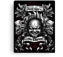 Third Time's the Charm Canvas Print
