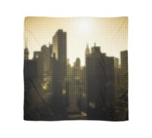 "Pixels Print ""NEW YORK CITY YELLOW"" Scarf"