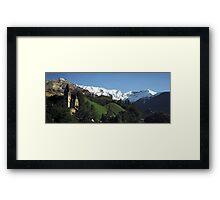 Eizenerz, Austria Framed Print