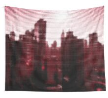 "Pixels Print ""NEW YORK CITY RED"" Wall Tapestry"