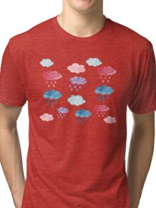 Raining clouds in the wind Tri-blend T-Shirt