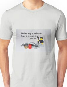 """""""The best way to predict the future is to create it"""" Unisex T-Shirt"""