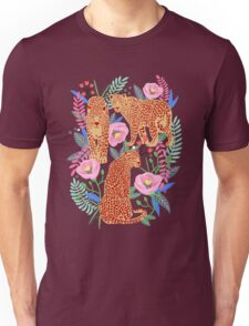 Leopard Idea, leopard print, animal print, flower print Unisex T-Shirt