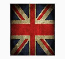 Antique Faded Union Jack UK British Flag Unisex T-Shirt