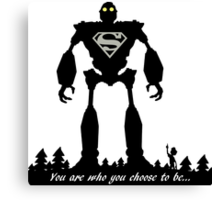Super Iron Giant Canvas Print