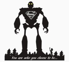 Super Iron Giant Kids Clothes