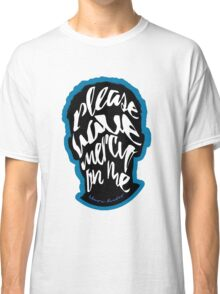 Shawn Mendes - Mercy Typography Classic T-Shirt