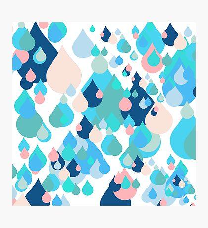 Happy Drops Photographic Print