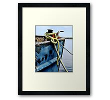 All Secure Sir. Permission To Go Ashore? Framed Print