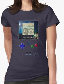 Space And Time traveller Gameboy special edition Womens Fitted T-Shirt