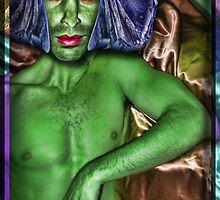 The Orion Slave Boy (Star Trek Reference (Humor)) by GolemAura