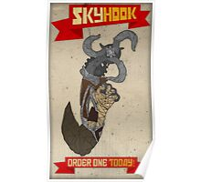 Skyhook - The Future of Travel Poster