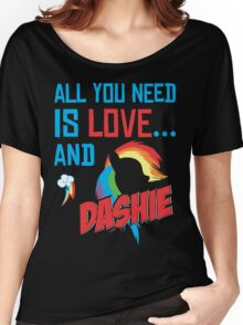 DASHIE - LIMITED EDITION Women's Relaxed Fit T-Shirt