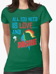 DASHIE - LIMITED EDITION Womens Fitted T-Shirt