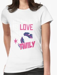 TWILY - LIMITED EDITION Womens Fitted T-Shirt