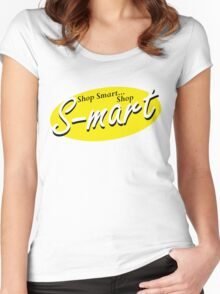 S-Mart Evil Dead T-Shirt Women's Fitted Scoop T-Shirt