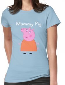Mummy Pig Womens Fitted T-Shirt