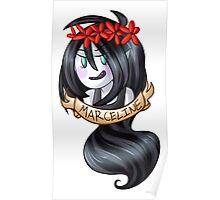 Flower Crown: Marceline Poster