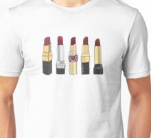 Marsala Lipstick Collection Unisex T-Shirt