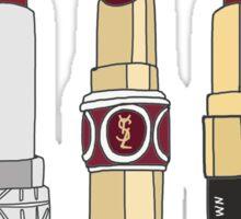 Marsala Lipstick Collection Sticker