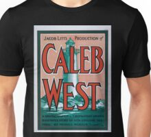 Performing Arts Posters Jacob Litts production of Caleb West a dramatization of F Hopkinson Smiths beautiful story of New England sea folk by Michael Morton 0034 Unisex T-Shirt