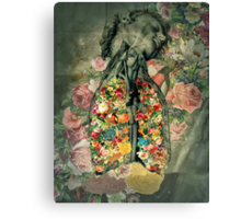 Floral Anatomy Canvas Print