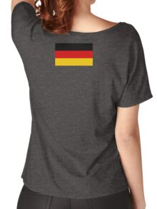 Germany Weltmeisterschaft Fahne Duvet - Deutschland Flag Tagesdecke Women's Relaxed Fit T-Shirt
