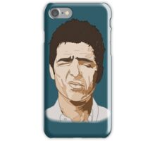Noel Gallagher Oasis Britpop Illustration iPhone Case/Skin