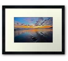 Daintree coast sunrise Framed Print