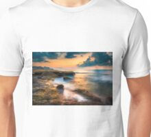 Waiting for the sunrise at Llop Mari south Unisex T-Shirt