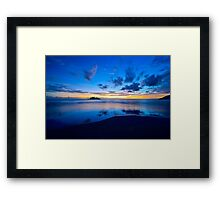 Early morning Daintree coast Framed Print