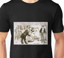 Performing Arts Posters The effervescent ecstasy Whose baby are you by Mark E Swan 1379 Unisex T-Shirt