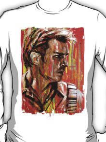 Captain Nathan Malcolm Reynolds Fillion Painting T-Shirt