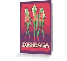 Music festivals zombies Greeting Card